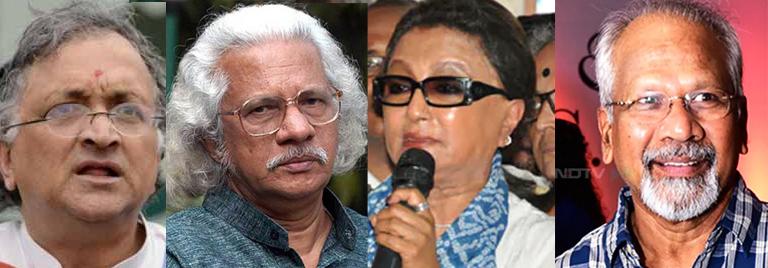 രാമചന്ദ്രഗുഹ, അടൂർഗോപാലകൃഷ്ണൻ, അപർണ സെൻ, മണിരത്നം
