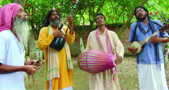 ഖോർഭാംഗയിലെ ഫക്കീറി ബാവുൾ പാട്ടുകാർ