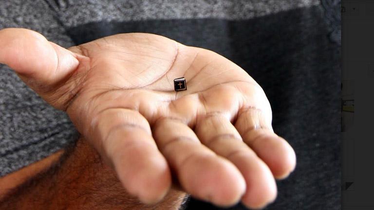 ലോകത്തിലെ ഏറ്റവും ചെറിയ ബൈബിള്