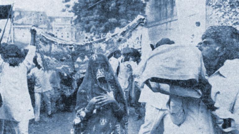 സതിയ്ക്കനുകൂലമയി ജയ്പൂരില് നടന്ന റാലികളില് ഒന്ന്
