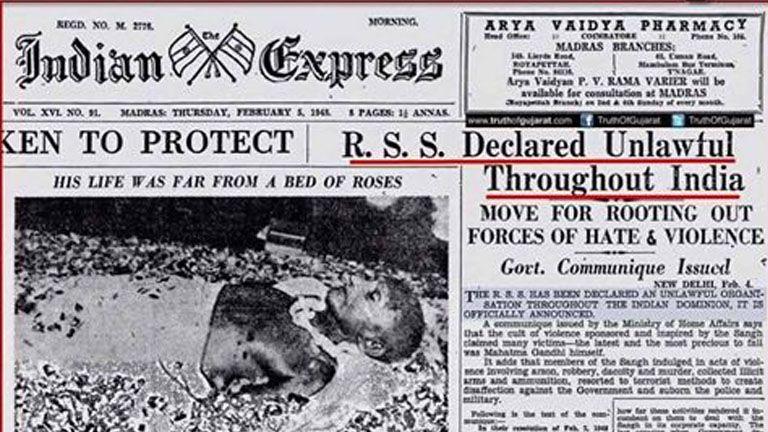 1948 ഫെബ്രുവരി അഞ്ചിന്റെ ഇന്ത്യന് എക്സ്പ്രസ് ദിനപത്രത്തില് നിന്ന്