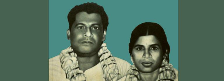 ടി വി തോമസ്, ഗൗരിയമ്മ വിവാഹ ഫോട്ടോ